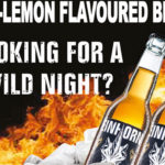 Vodka-Lemon flavoured beer
